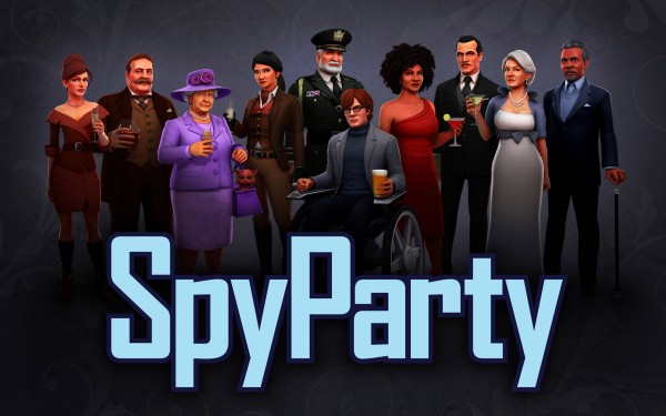 Half of the SpyParty Cast, Done!